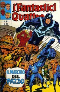 Cover Thumbnail for I Fantastici Quattro (Editoriale Corno, 1971 series) #80