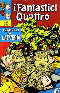 Cover Thumbnail for I Fantastici Quattro (Editoriale Corno, 1971 series) #83
