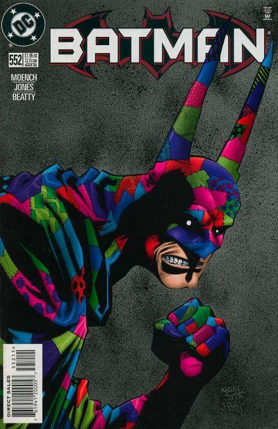 Cover for Batman (DC, 1940 series) #552