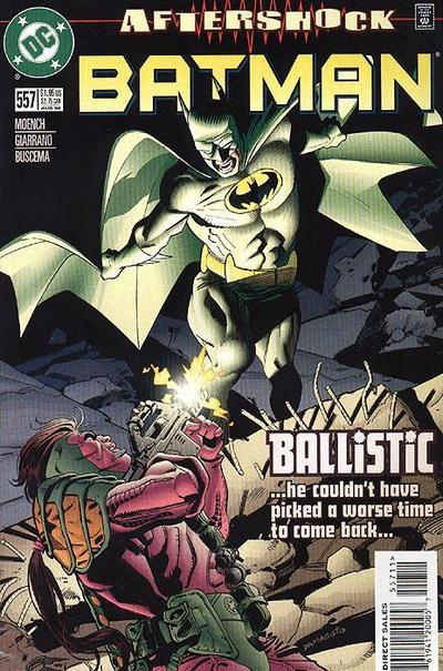 Cover for Batman (DC, 1940 series) #557