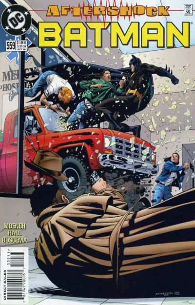 Cover for Batman (DC, 1940 series) #559 [Direct Edition]