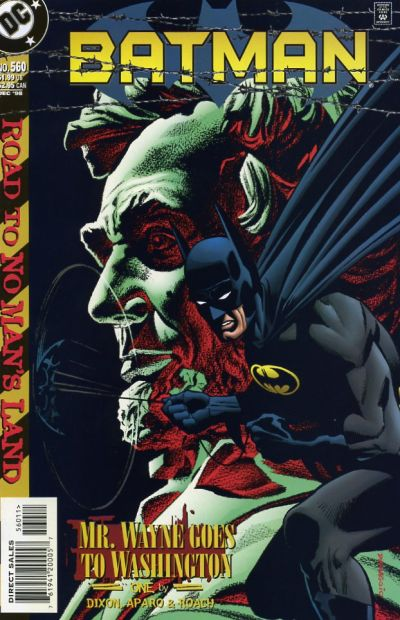 Cover for Batman (DC, 1940 series) #560
