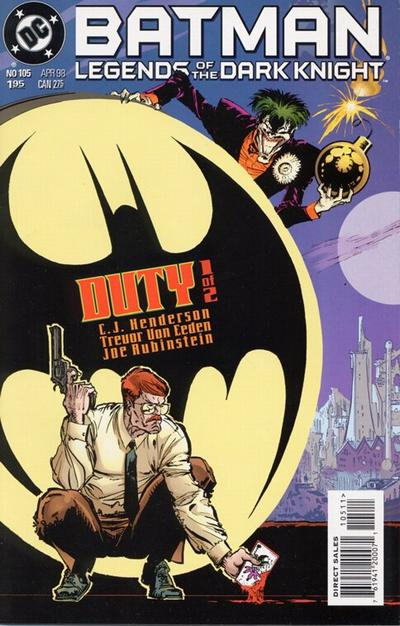 Cover for Batman: Legends of the Dark Knight (DC, 1992 series) #105