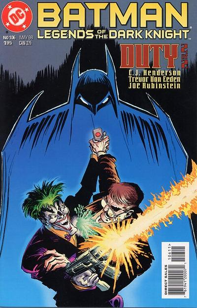 Cover for Batman: Legends of the Dark Knight (DC, 1992 series) #106