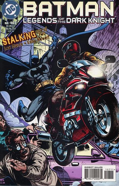 Cover for Batman: Legends of the Dark Knight (DC, 1992 series) #107