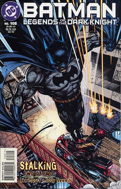 Cover for Batman: Legends of the Dark Knight (DC, 1992 series) #108