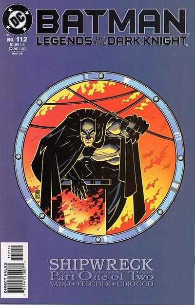 Cover for Batman: Legends of the Dark Knight (DC, 1992 series) #112