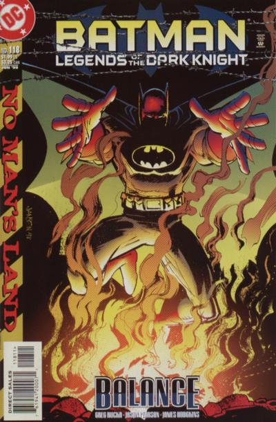 Cover for Batman: Legends of the Dark Knight (DC, 1992 series) #118