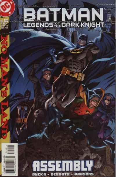 Cover for Batman: Legends of the Dark Knight (DC, 1992 series) #120