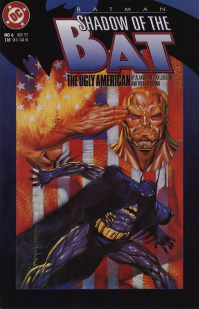 Cover for Batman: Shadow of the Bat (DC, 1992 series) #6