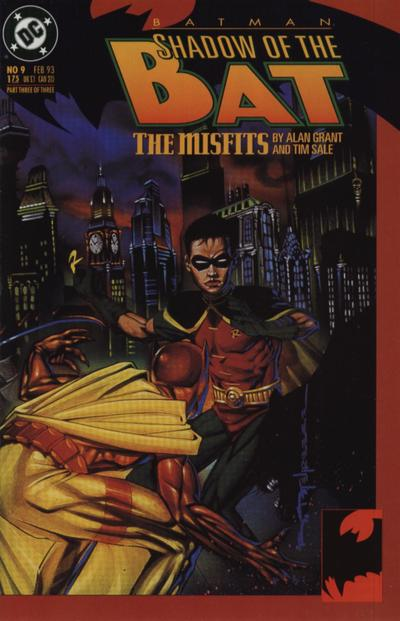 Cover for Batman: Shadow of the Bat (DC, 1992 series) #9