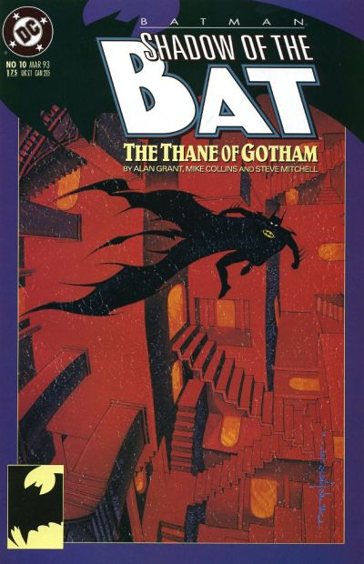 Cover for Batman: Shadow of the Bat (DC, 1992 series) #10