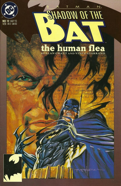 Cover for Batman: Shadow of the Bat (DC, 1992 series) #12