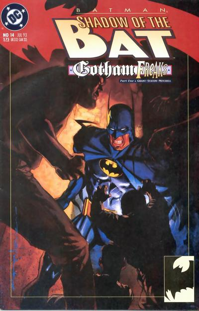 Cover for Batman: Shadow of the Bat (DC, 1992 series) #14