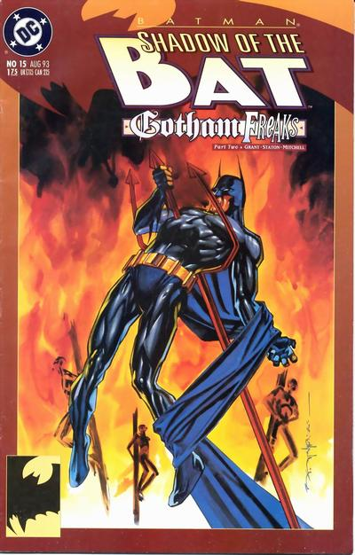 Cover for Batman: Shadow of the Bat (DC, 1992 series) #15