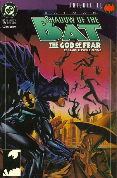 Cover for Batman: Shadow of the Bat (DC, 1992 series) #18