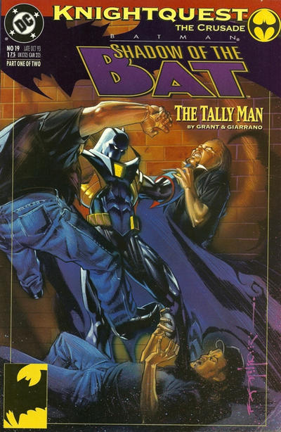 Cover for Batman: Shadow of the Bat (DC, 1992 series) #19