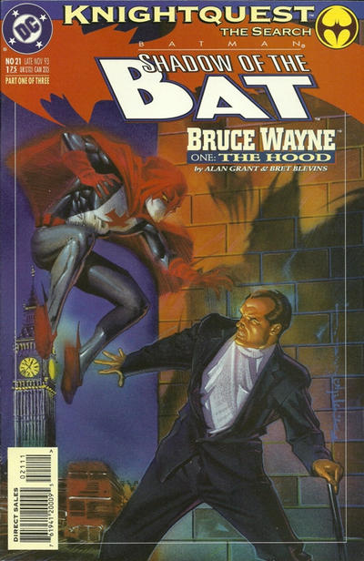 Cover for Batman: Shadow of the Bat (DC, 1992 series) #21