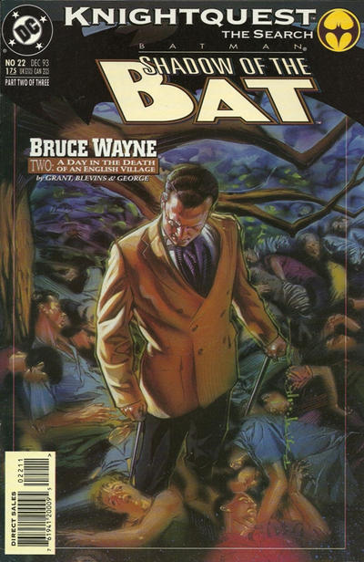 Cover for Batman: Shadow of the Bat (DC, 1992 series) #22