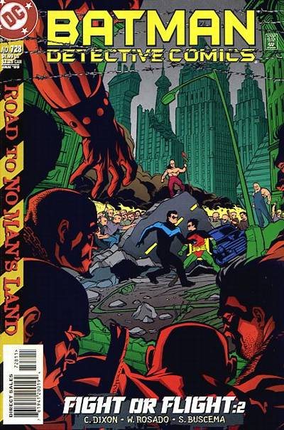 Cover for Detective Comics (DC, 1937 series) #728