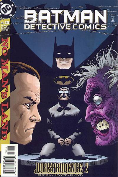 Cover for Detective Comics (DC, 1937 series) #739