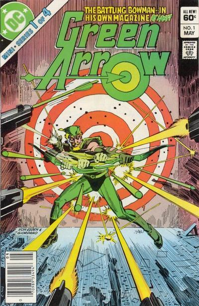 Cover for Green Arrow (DC, 1983 series) #1 [Newsstand]