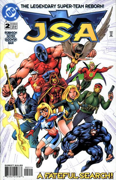 Cover for JSA (DC, 1999 series) #2