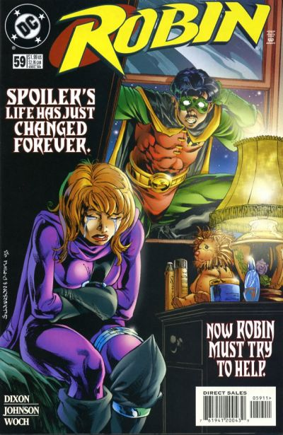 Cover for Robin (DC, 1993 series) #59