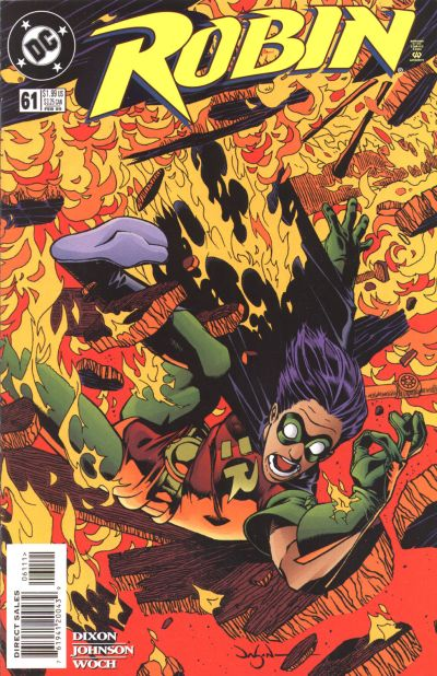Cover for Robin (DC, 1993 series) #61