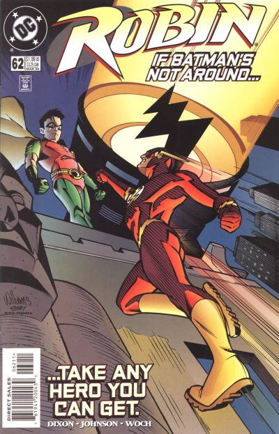 Cover for Robin (DC, 1993 series) #62
