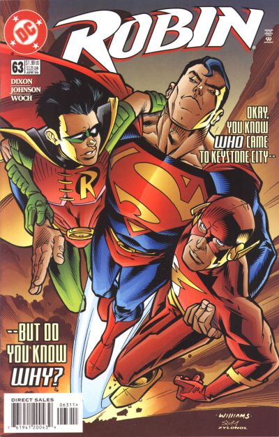 Cover for Robin (DC, 1993 series) #63