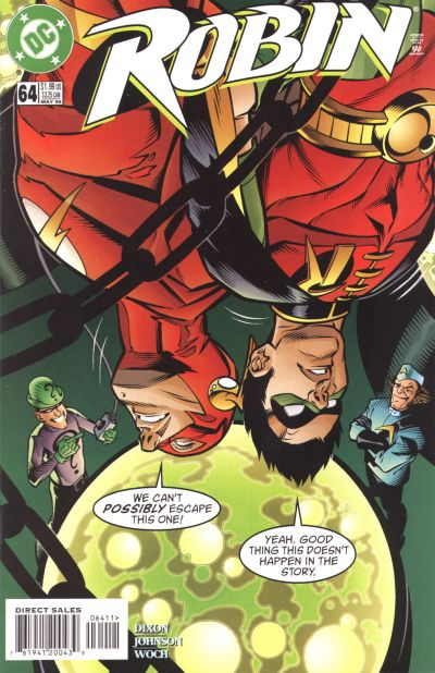 Cover for Robin (DC, 1993 series) #64