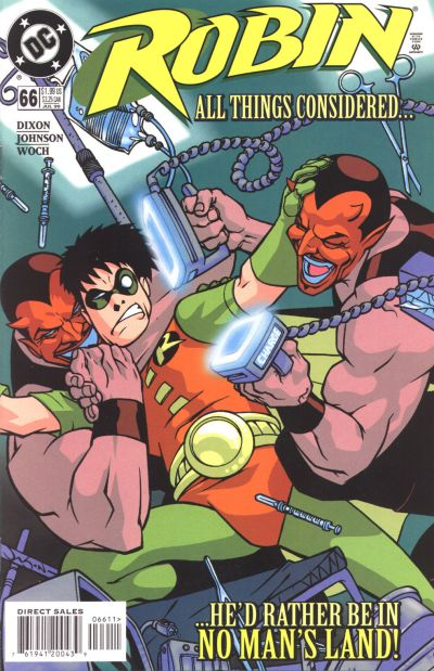 Cover for Robin (DC, 1993 series) #66