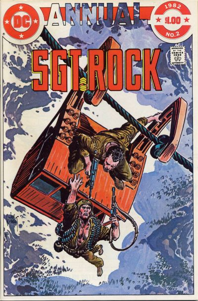 Cover for Sgt. Rock Annual (DC, 1982 series) #2 [Direct Sales]