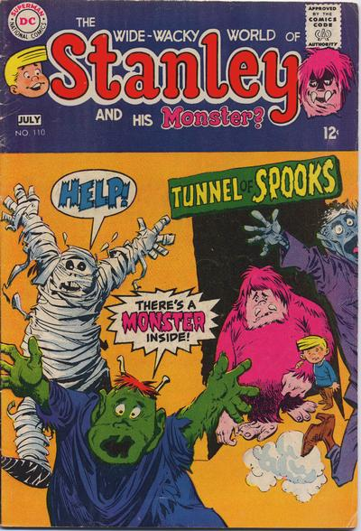 Cover for Stanley and His Monster (DC, 1968 series) #110