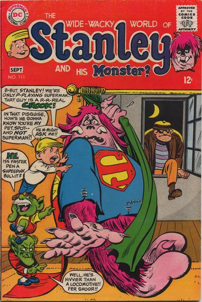 Cover for Stanley and His Monster (DC, 1968 series) #111