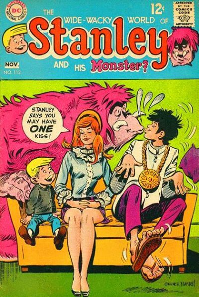 Cover for Stanley and His Monster (DC, 1968 series) #112