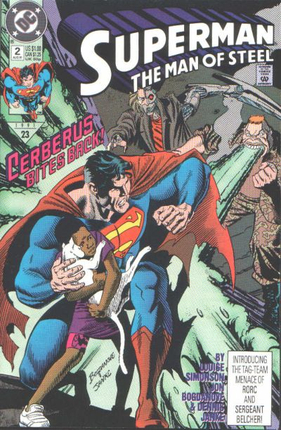 Cover for Superman: The Man of Steel (DC, 1991 series) #2