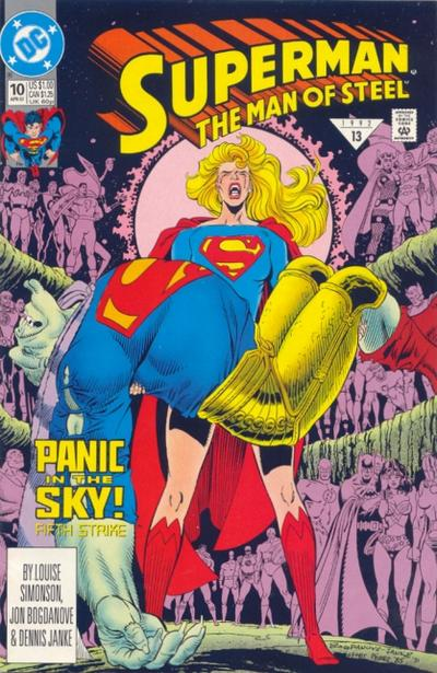 Cover for Superman: The Man of Steel (DC, 1991 series) #10