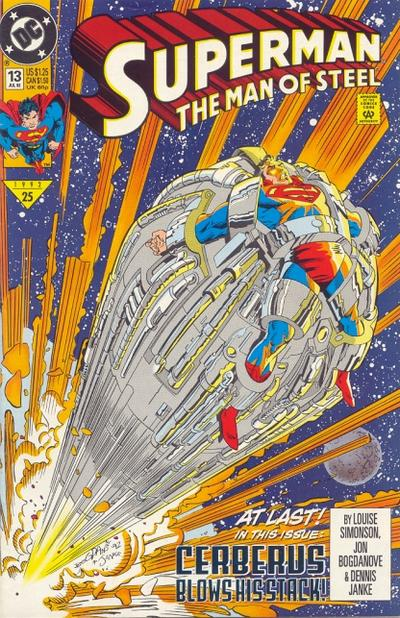 Cover for Superman: The Man of Steel (DC, 1991 series) #13