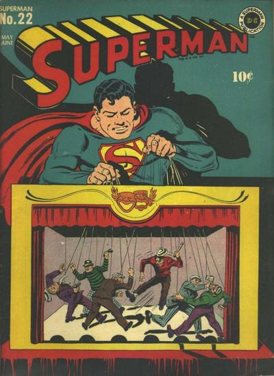 Cover for Superman (DC, 1939 series) #22