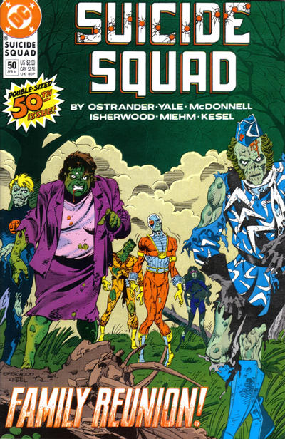 Cover for Suicide Squad (DC, 1987 series) #50
