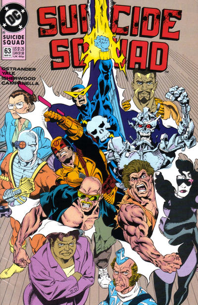 Cover for Suicide Squad (DC, 1987 series) #63