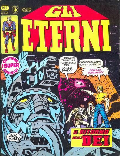 Cover for Gli Eterni (Editoriale Corno, 1978 series) #1