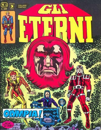 Cover for Gli Eterni (Editoriale Corno, 1978 series) #4