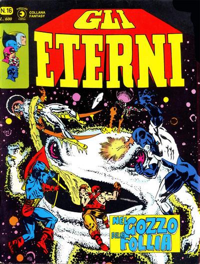 Cover for Gli Eterni (Editoriale Corno, 1978 series) #16