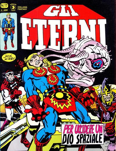 Cover for Gli Eterni (Editoriale Corno, 1978 series) #17