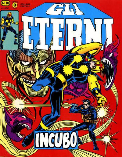 Cover for Gli Eterni (Editoriale Corno, 1978 series) #18