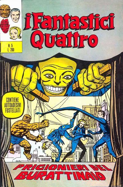 Cover for I Fantastici Quattro (Editoriale Corno, 1971 series) #5