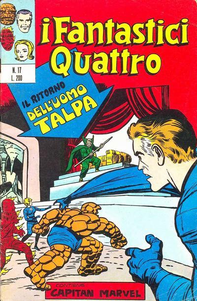 Cover for I Fantastici Quattro (Editoriale Corno, 1971 series) #17